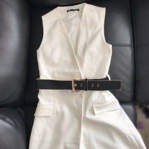 ZARA WHITE BLAZER  DRESS